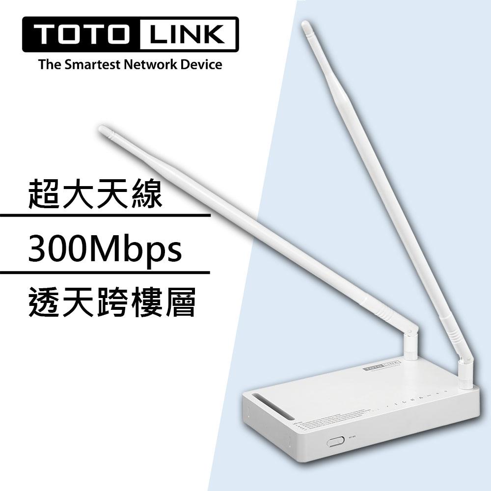 TOTOLINK N300RH 高功率極速廣域無線分享器