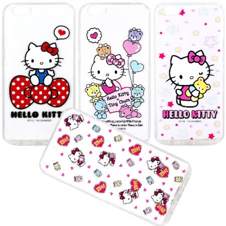 【Hello Kitty】OPPO R9s Plus (6吋) 彩繪空壓手機殼
