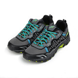 (男) FILA 限定版戶外登山越野鞋 灰藍 1-X077R-092 男鞋 鞋全家福