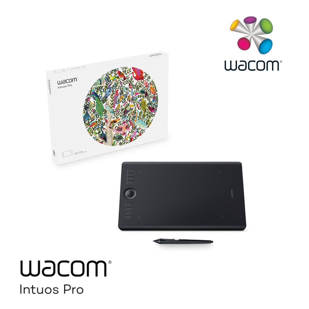 Wacom Intuos Pro Medium 創意觸控繪圖板 (PTH-660/K0-C)