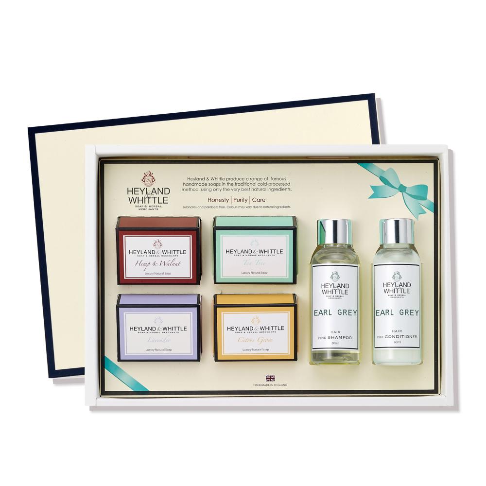 H&W英倫薇朵 典藏香氛沐浴禮盒-舞茶伯爵