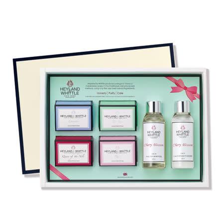 H&W英倫薇朵  典藏寵愛香氛沐浴禮盒