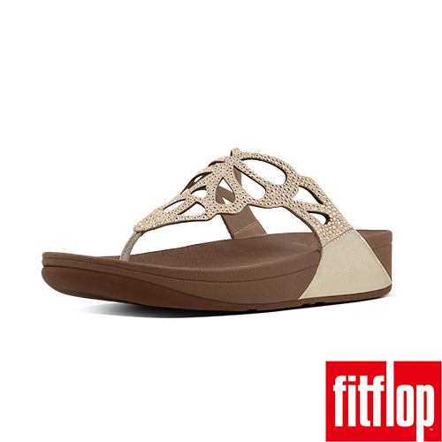 FitFlop™-(女款)BUMBLE™ CRYSTAL TOE-THONG-金色