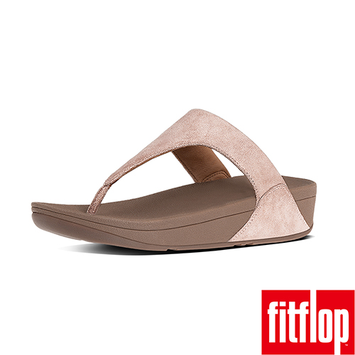 FitFlop™-(女款)SHIMMY™ SUEDE TOE-THONG SANDAL-玫瑰金