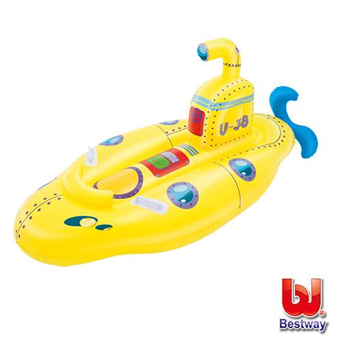《購犀利》Bestway。兒童充氣潛水艇造型坐騎