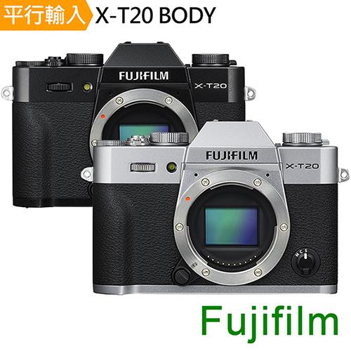 FUJIFILM X-T20 單機身*(中文平輸)-送大吹球清潔組+硬式保護貼