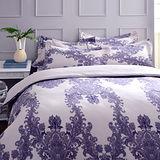 義大利La Belle《絕色宮廷》雙人純棉床包枕套組