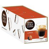 雀巢NESCAFE 美式濃黑咖啡膠囊(3盒組,共48顆)(Lungo)