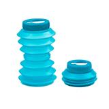 OHYO 伸縮環保水壺 500ml - 藍色