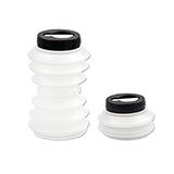 OHYO 伸縮環保水壺 500ml - 透明色(瓶蓋顏色隨機出貨)