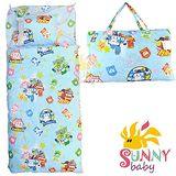 SunnyBaby 卡通造型幼教兒童睡袋睡袋-波力(藍) 波力(藍)