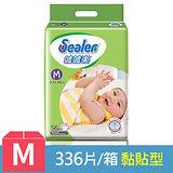 【噓噓樂】輕柔乾爽紙尿褲-M (56片x6包) /箱