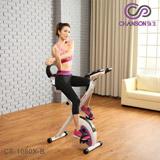 【強生CHANSON】樂活有氧健身車(含椅背) CS-1080X-B (DIY自助組裝)