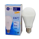 GE奇異球型LED燈泡 13W 白光/黃光 全電壓 2入組