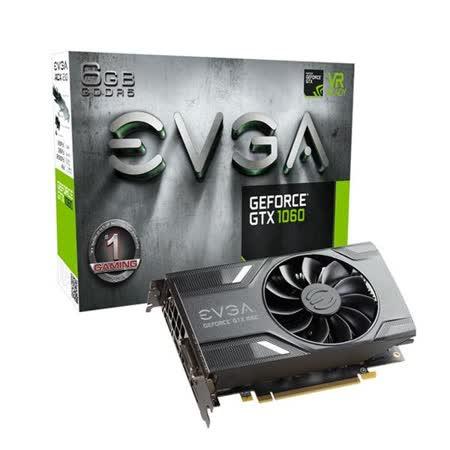 艾維克EVGA GTX1060 6GB GAMING ACX 2.0 GDDR5 PCI-E圖形卡