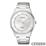 CITIZEN星辰 不鏽鋼錶帶紳士商務男仕手錶 BD0041-89A