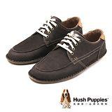 Hush Puppies ARVID ROLL FLEX系列 舒適綁帶休閒鞋 男鞋-灰(另有棕)