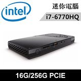 Intel NUC6I7KYK1-16256N 特仕版 迷你電腦(i7-6770HQ/16G/256G PCIE)