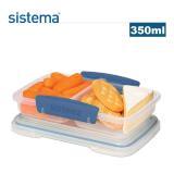 【sistema】紐西蘭進口外帶零食盒350ml(四色隨機)