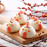 【禎祥食品】小雞甜包-紅豆餡 (10粒)