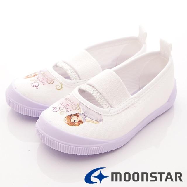 日本Carrot機能童鞋-日本製蘇菲亞室內鞋-NS019紫-(14cm-19cm)