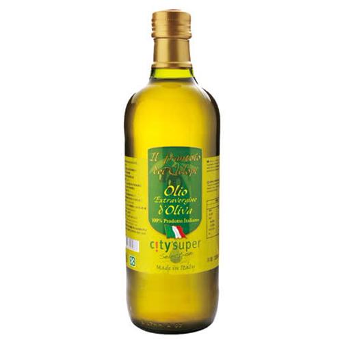 買一送一【CITY' SUPER】義大利特級初榨冷壓橄欖油 1L
