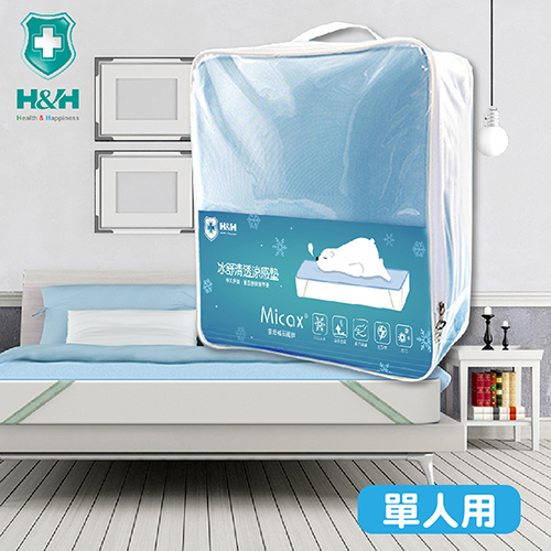 【必翔銀髮】南良H&H冰舒清透涼感墊 (單人90x188cm)
