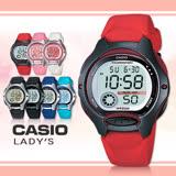 【CASIO 卡西歐】造型小巧、可愛甜美/學生必備電子錶(LW-200-4A)