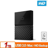 WD My Passport for Mac 1TB 2.5吋行動硬碟(WESN)