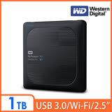 WD My Passport Wireless Pro 1TB 2.5吋 Wi-Fi 行動硬碟