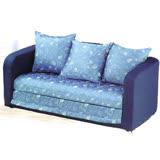 【椅子部落】愛密莉沙發床(藍)     KHST258-3