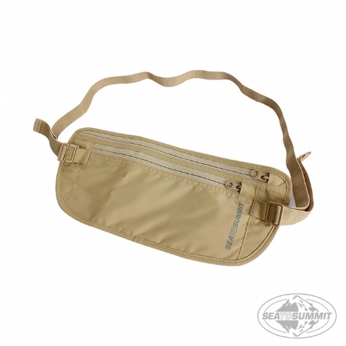 SEATOSUMMIT 旅行用腰帶式錢包證件袋(褐色)