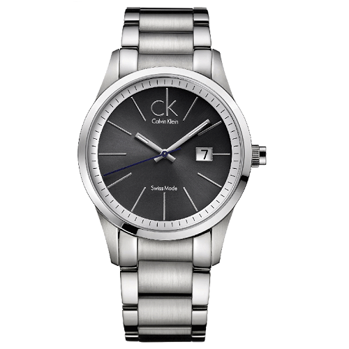 瑞士 Calvin Klein 絕對經典款簡約不鏽鋼中性錶 K2246107