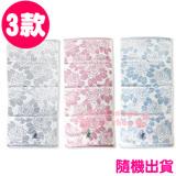 〔小禮堂〕彼得兔 長毛巾《3款隨機出貨.粉/灰/藍.玫瑰滿版.34x75cm》