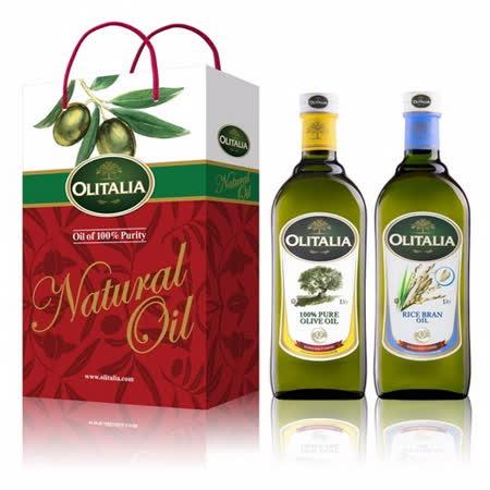 Olitalia奧利塔 純橄欖油+玄米油禮盒