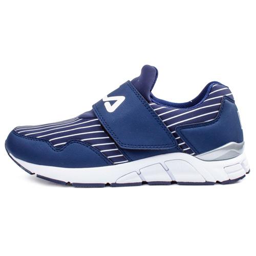 FILA(男)流行慢跑鞋(丈青/ 白)1-J312R-331