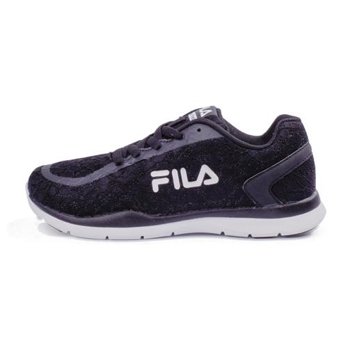 FILA(女)多功能訓練鞋(蕾絲黑)5-J310R-001