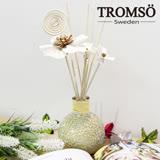 TROMSOx魅力法國-優雅琉璃60ml竹木精油香氛-梔子花黃