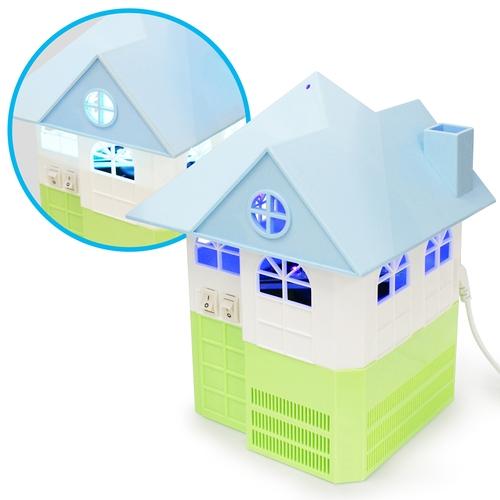 溫馨小宅 房屋造型 USB光觸媒吸入式捕蚊燈