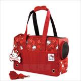 Hello Kitty 雷樂士寵物包(紅色)