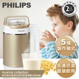 【飛利浦 PHILIPS】金營養免濾豆漿/料理機 (HD2089)