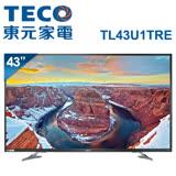 【促銷】TECO東元 43吋 真4K Smart液晶顯示器+視訊盒(TL43U1TRE)