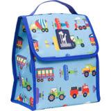 【美國Wildkin】直立式午餐袋/便當袋/保冰溫袋(55079交通工具大集合)