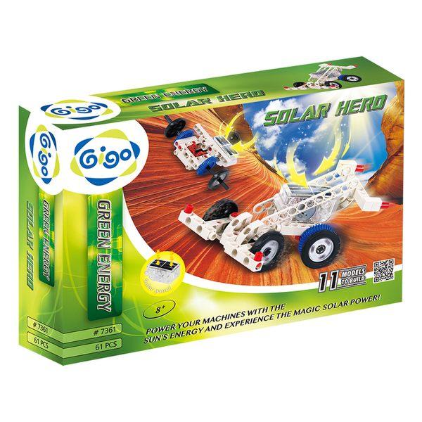 【智高 GIGO】太陽能機械入門組 (#7361)