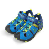 (大童) LOTTO 護趾運動涼鞋 藍 童鞋 鞋全家福