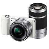 SONY A5100Y 16-50mm+55-210mm雙鏡組(公司貨)-送32G 記憶卡+專用電池+座充+專用相機包+大吹球清潔組+保護貼+讀卡機