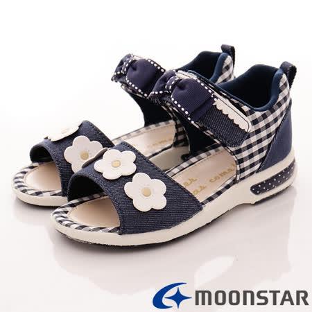 日本Carrot 小花護踝涼鞋款
