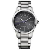 瑞士 Calvin Klein 經典款鐵灰紳士男錶 (K2241107)