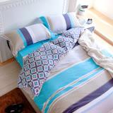 鴻宇HongYew 《托曼斯》純棉 雙人四件式兩用被床包組