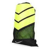 NIKE VAPOR 束口袋-雙肩包 後背包 收納袋 黑螢光黃 F